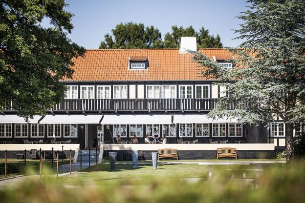 Molskroen Ebeltoft kroophold Jylland